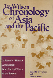 Wilson Chronology of Asia and the Pacific