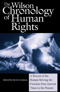 Wilson Chronology of Human Rights