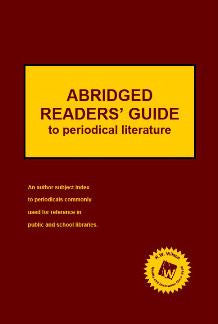 Abridged Readers' Guide to Periodical Literature (2016 Subscription)