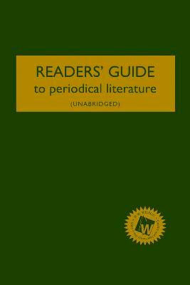 Readers' Guide to Periodical Literature (2017 Subscription)
