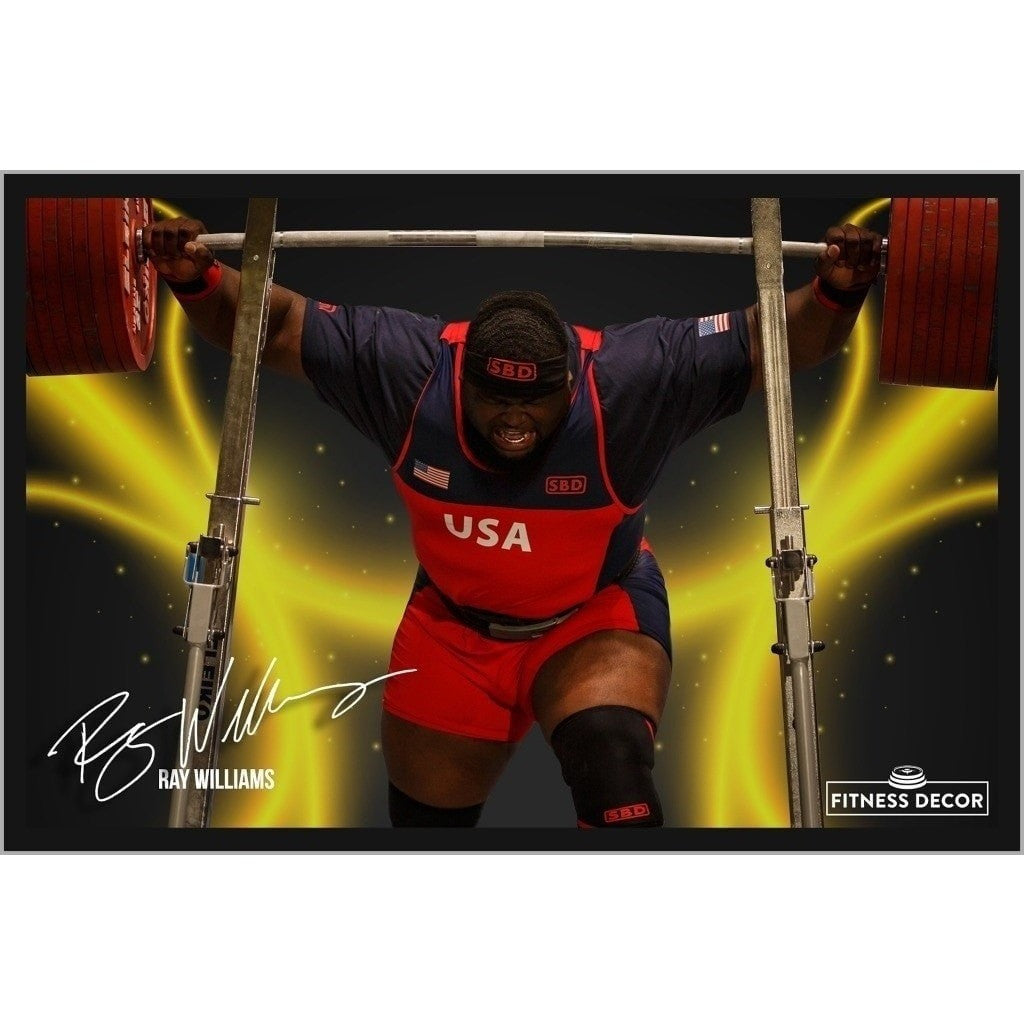Ray Williams Innovation Strength and Fitness Decor