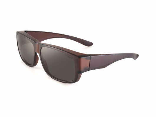 Strike blue light filtering sunglasses fitovers