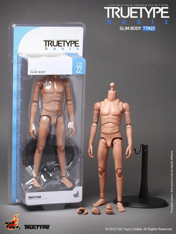 Hot Toys TrueType TTM-22 Slim Body 1/6th Scale Fully Poseable Action Figure