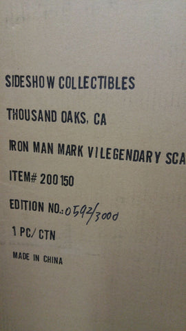 Iron Man Mark V Legendary Scale Bust
