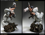 Conan the Barbarian: Fury of the Beast Polystone Diorama