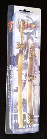 Metal Sword Replica 1:5 Scale Miniature Collectible Model
