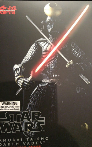 "Bandai Tamashii Nations Meisho Movie Realization Samurai General Darth Vader ""Death Star Armor"" Action Figure null"
