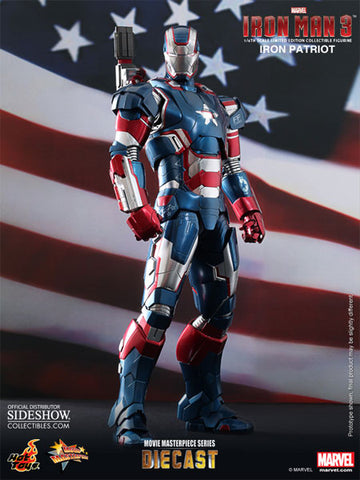 Hot Toys Iron Man 3 Iron Patriot 12 Inch Figure Limited Edition