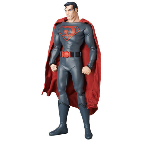 Real Action Heroes RAH DC Comics Red Son Superman 1/6 Scale 12 Inch Figure