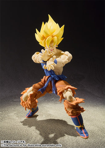Bandai Tamashii Nations Super Saiyan Son Goku Super Warrior Awakening Action Figure