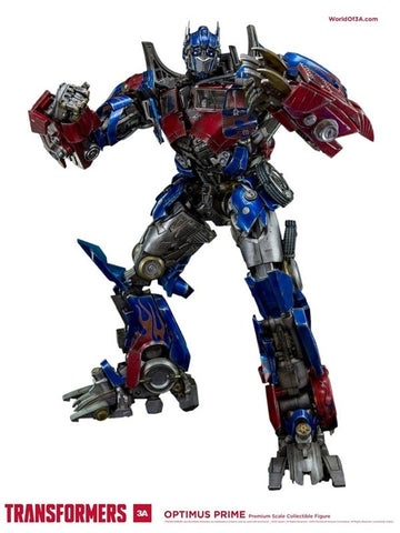 3A Transformers Optimus Prime Replica Deluxe Action Figure