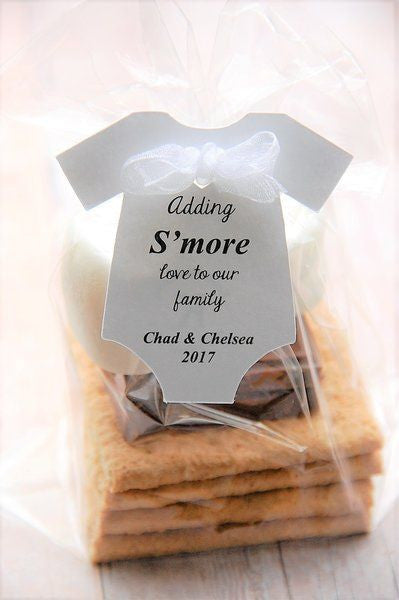 s'more love to our family baby shower favor