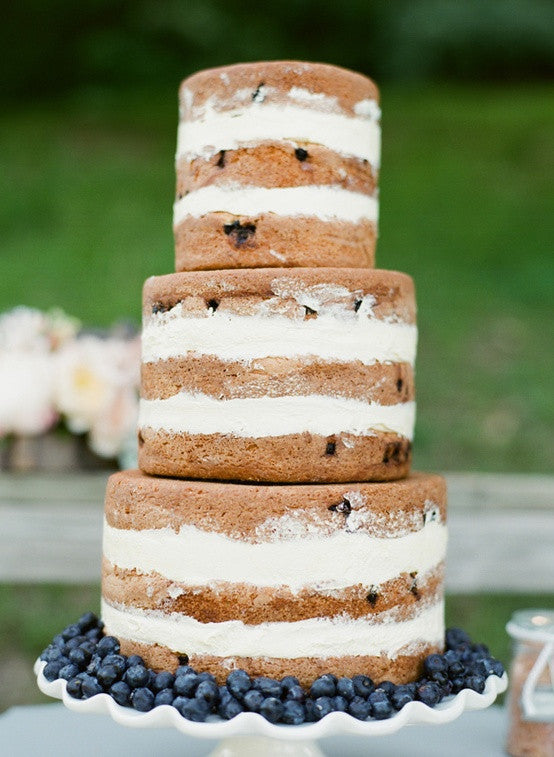 chocoalte chip cookie alternative wedding cake