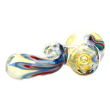 Blue Spectrum Dichroic Glass Bubbler