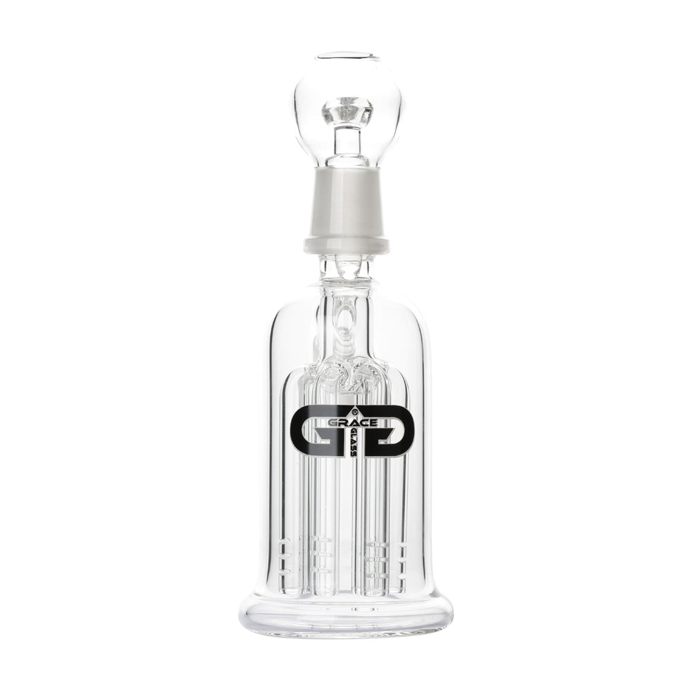 6 Arm Tree Perc Dual-head Concentrate Precooler clear