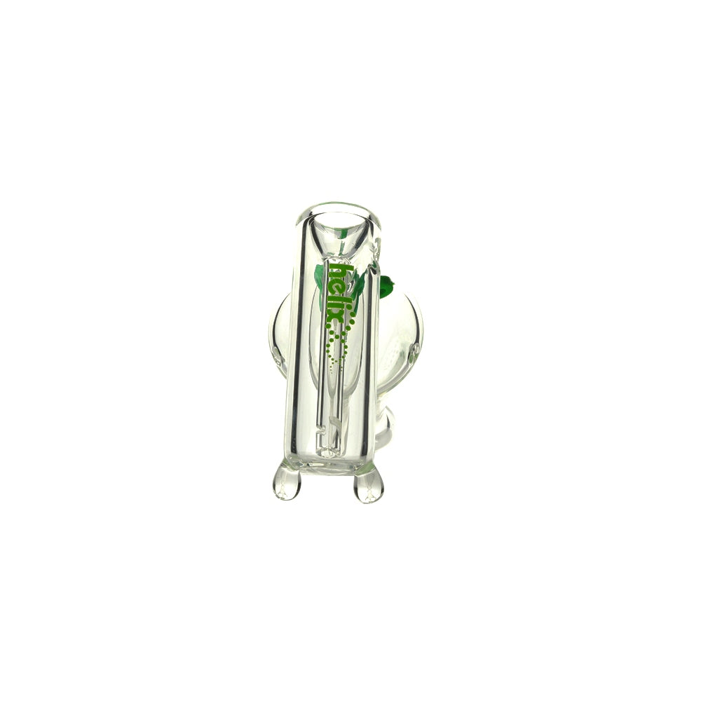 Helix Bubbler Glass Pipe Multi Kit Green