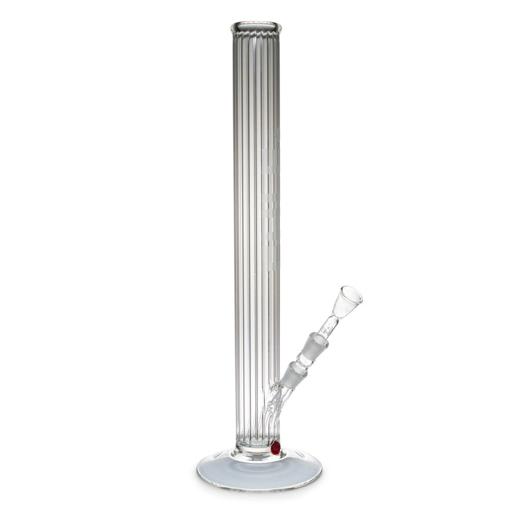 Glass Bong Clear Contoured Tube