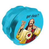 Jay and Silent Bob Buddy Christ Grinder Aqua UK