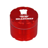 Head Chef Razor Grinder/Sifter 50mm Red