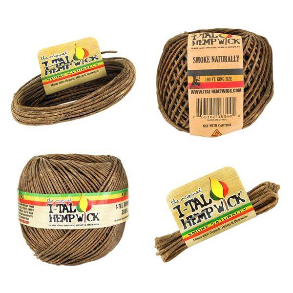 I-TAL Hemp Wicks uk