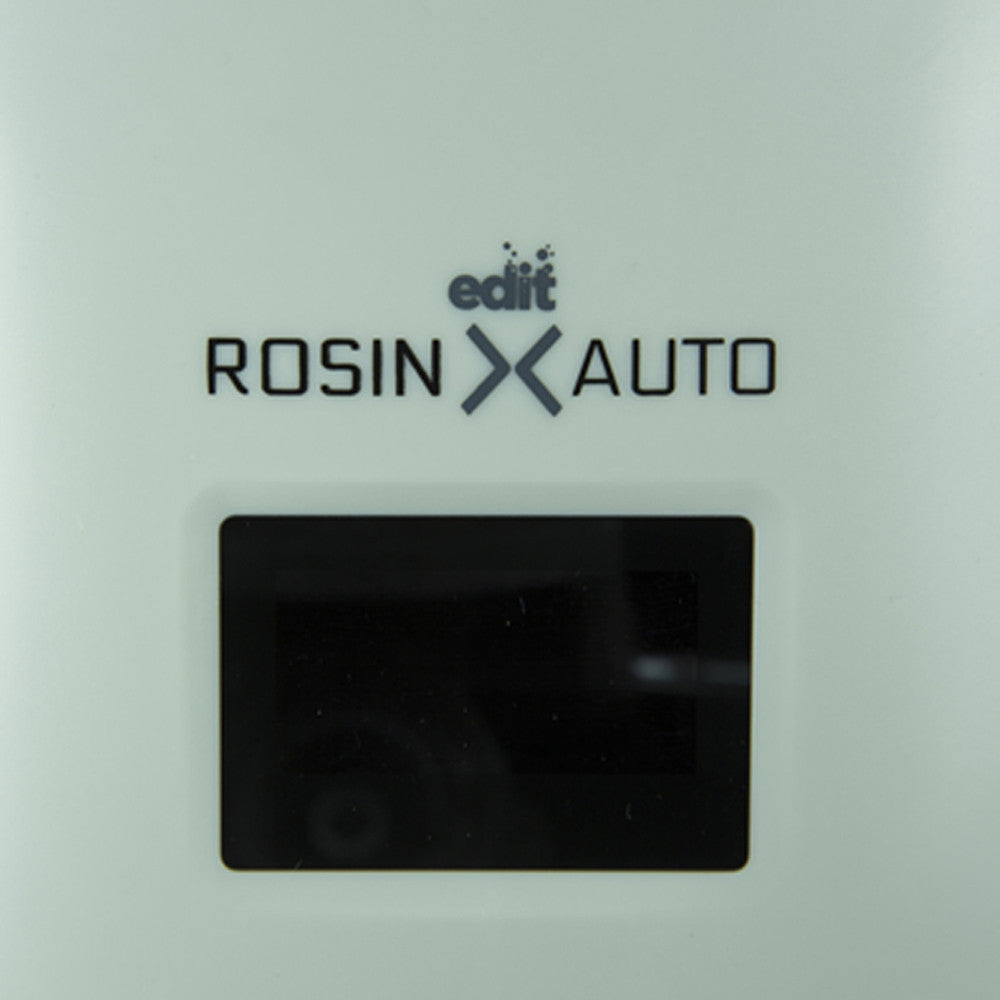 Rosin X Auto Compact Automatic Rosin Press with logo