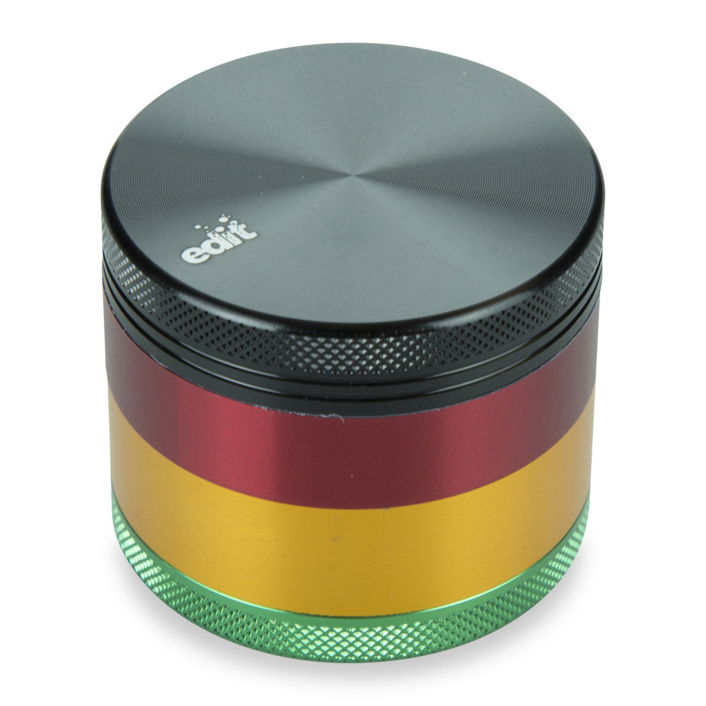 "4 Part 2.2"" Aluminium Rasta Grinder with Sifter"