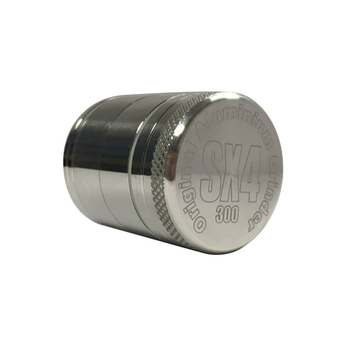 SX4 4 Part Grinder/Sifter Silver 30mm
