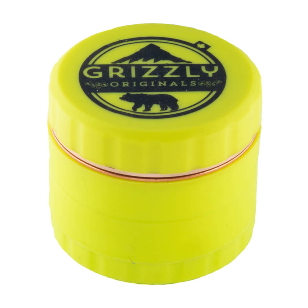 Grizzly Originals Silicone grinder with blade teeth Yellow