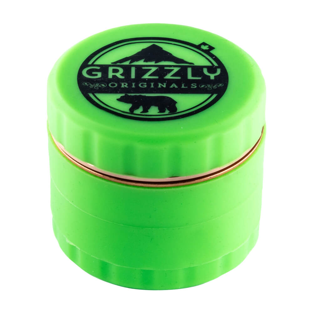 Grizzly Originals Silicone grinder with blade teeth Green