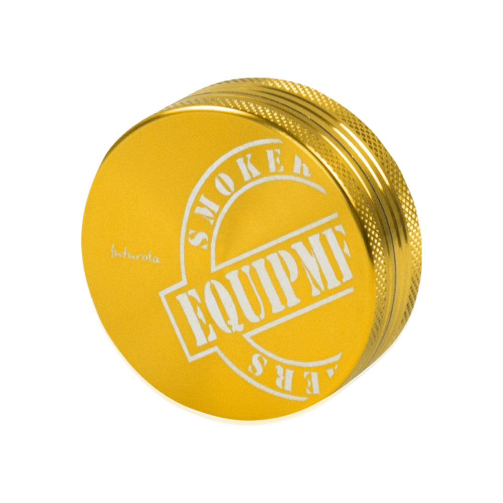 Futurola 2-part Grinder Gold everyonedoesit uk