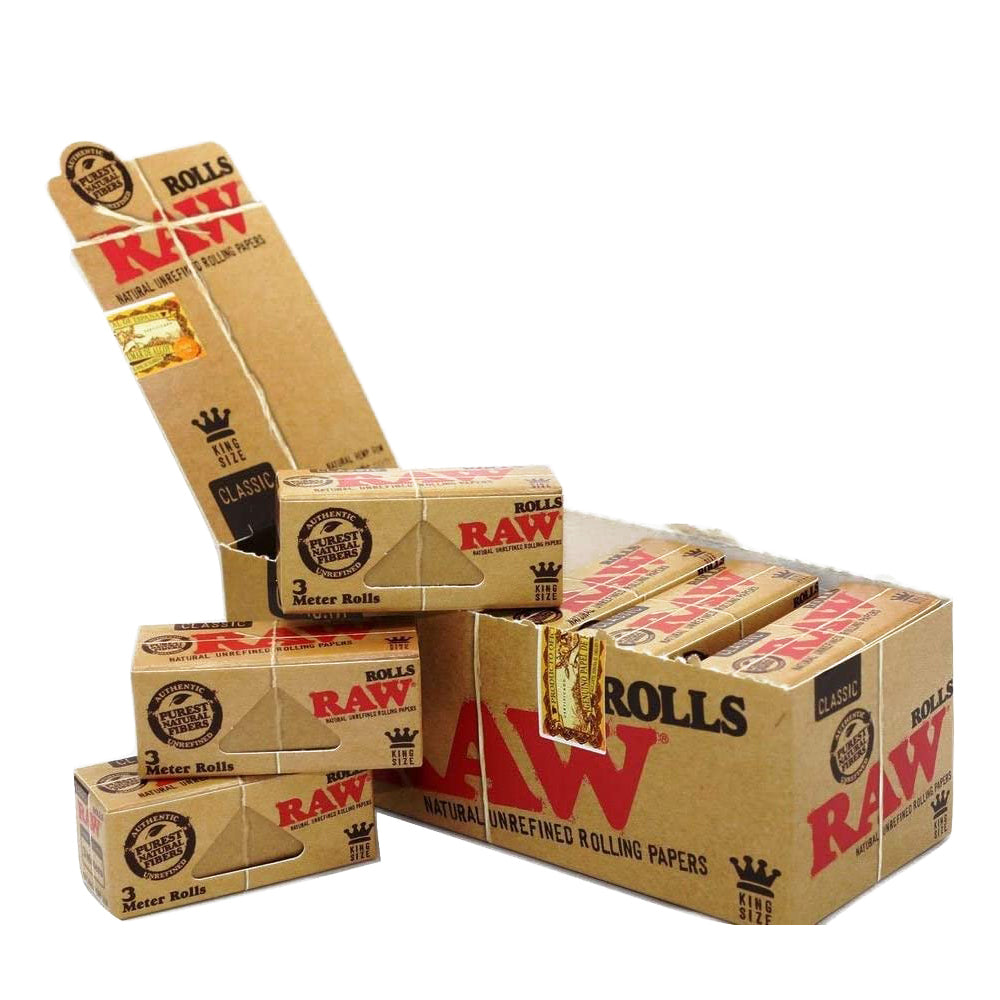 Paper Rolls Natural Unbleached 12 Pack Box
