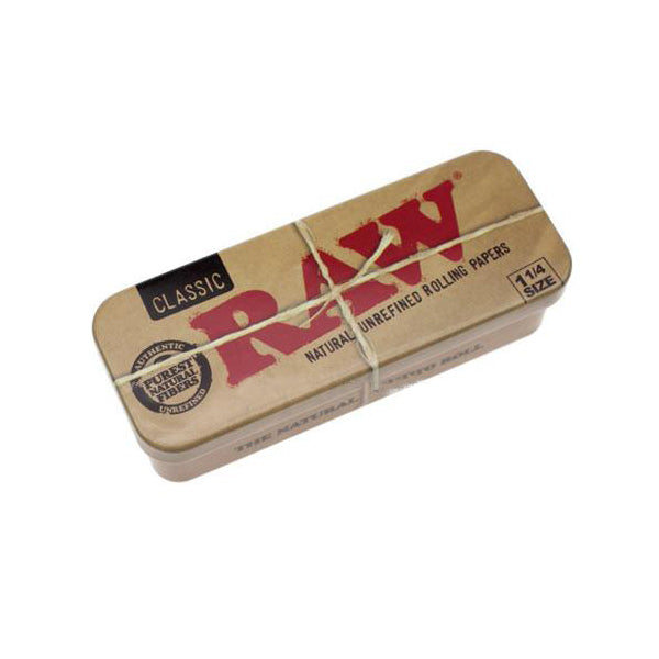 Raw Cone Caddy Metal Storage Tin