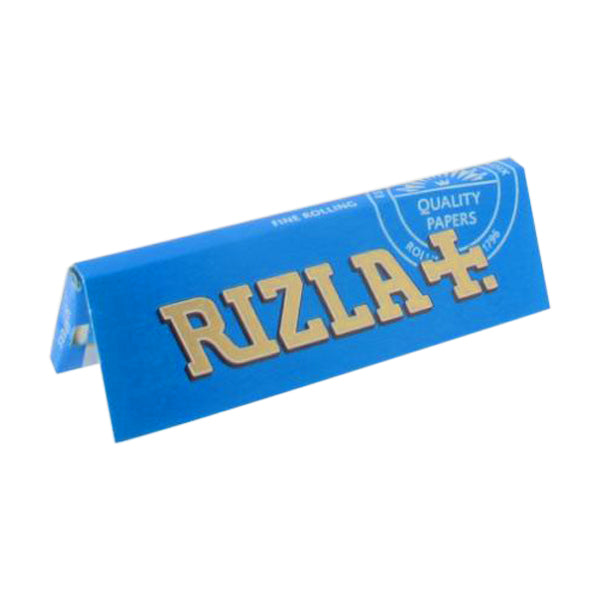 Regular Size Rolling Papers Single Pack Blue