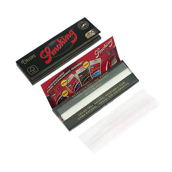 Deluxe Medium Regular Rolling Papers Single Pack