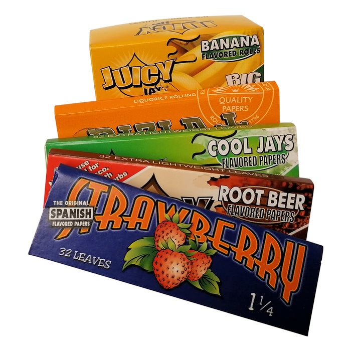 Mixed Flavoured Rolling Papers
