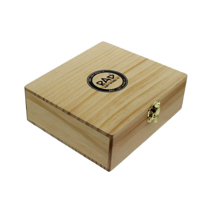 Wooden Rolling Box Large