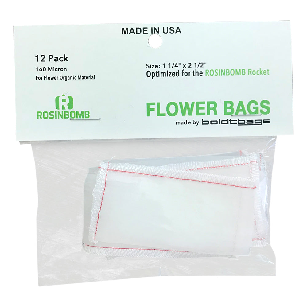 Rosinbomb Rocket Flower Bag Front UK