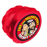 Jay and Silent Bob Secret Stash Grinder Red UK