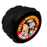 Jay and Silent Bob Secret Stash Grinder Black UK