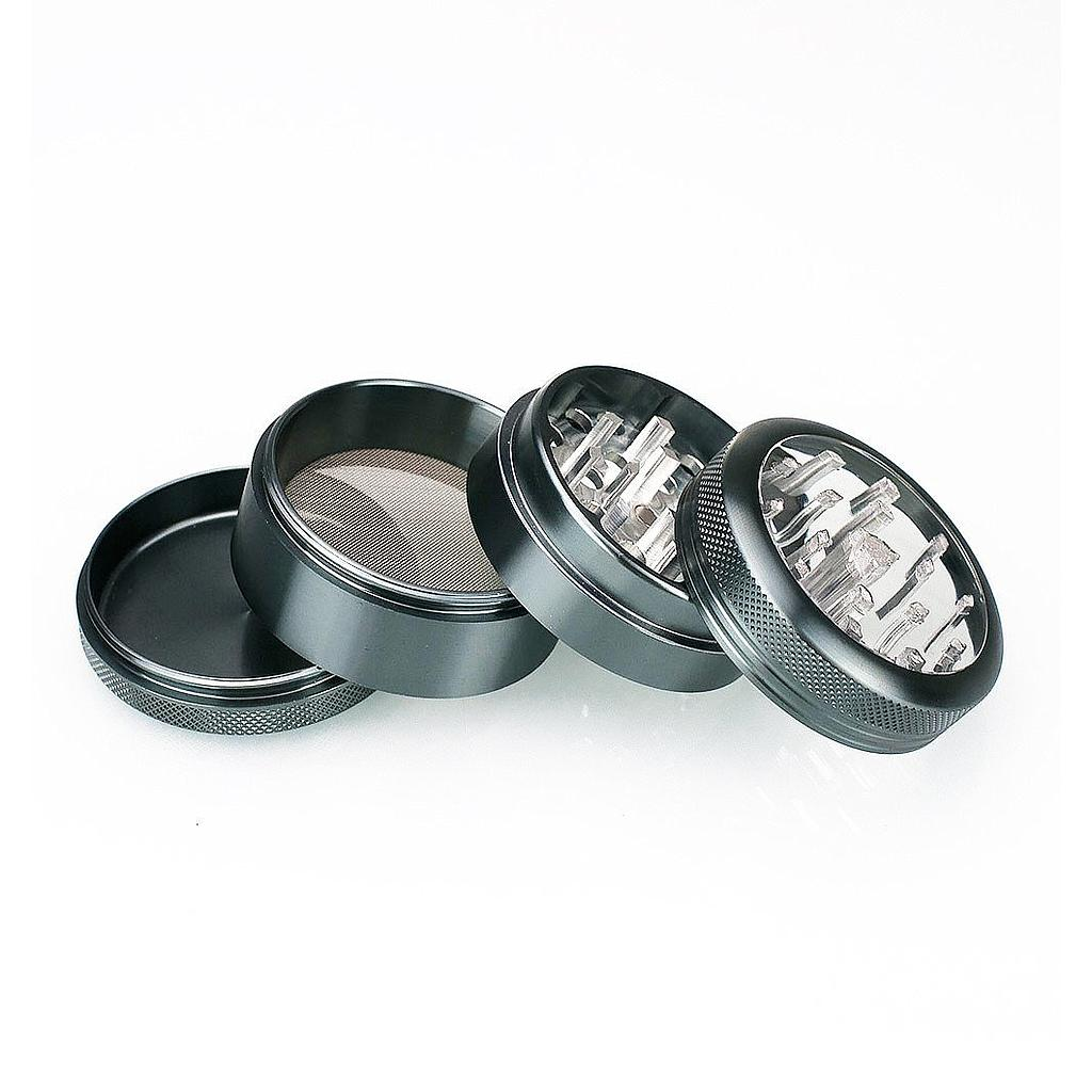 4-Piece Clear Top Herb Grinder Sifter
