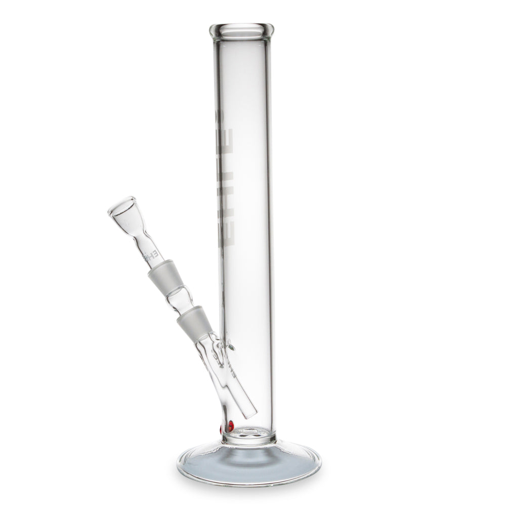 Glass 5mm Clear Cylinder Bong 37cm