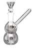 Mini Double Bubble Base Borosilicate Glass Bong