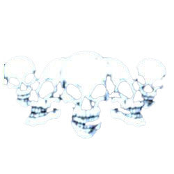 Mini Baggies Skulls Pack of 100
