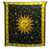 Sun and Stars Throw