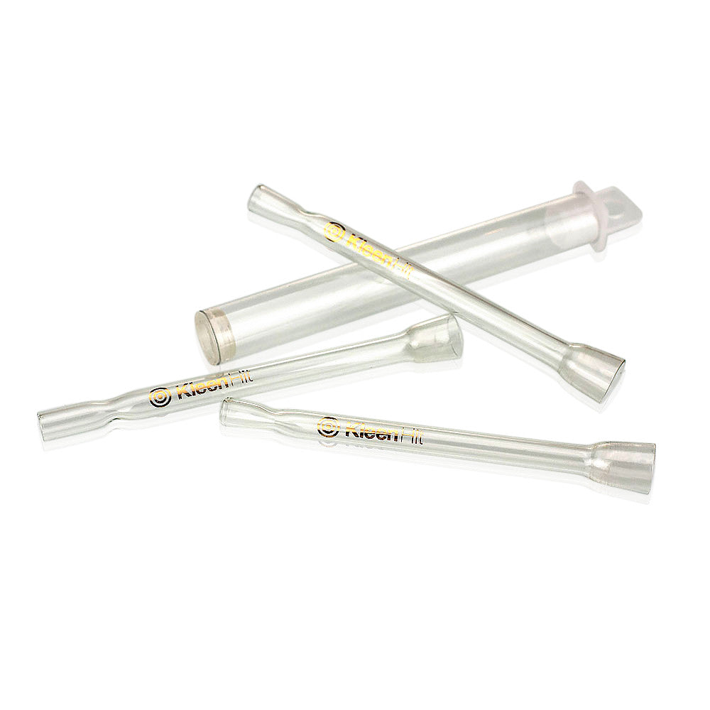 Buy Kleen Hit Quartz Glass One Hitter Bats UK