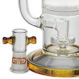 Limited Edition Saxo Fritted Disc Perc Bubbler