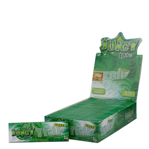 Flavored Rolling Papers Regular Size Green Trip