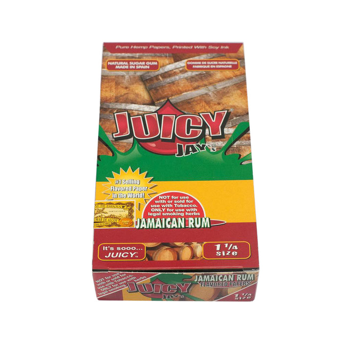 Flavored Rolling Papers Regular Size Jamaican Rum