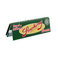 Rolling Papers Regular Size Single Pack Green