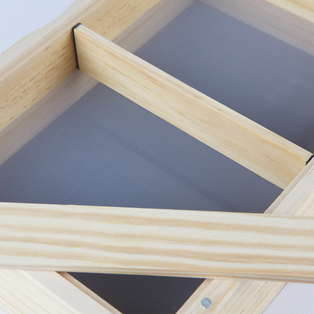 4x7 Glass Top Sifter Box